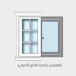 قیمت پنجره دوجداره Upvc تهران
