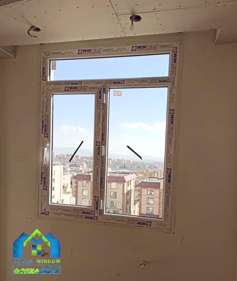 مراحل تولید و نصب درب و پنجره دوجداره UPVC
